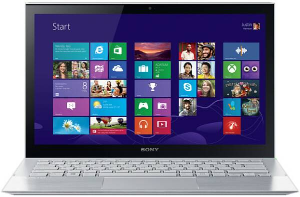 Sony VAIO Pro 13 - экран и Windows 8