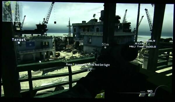 Call of Duty: Modern Warfare 3 на Sony VAIO Pro 13